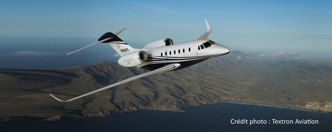 Le jet privé Cessna Citation X+