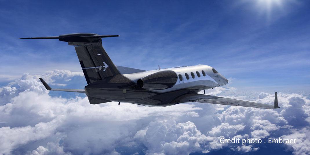 Le système de gouvernail ventral du Phenom 300 d'Embraer
