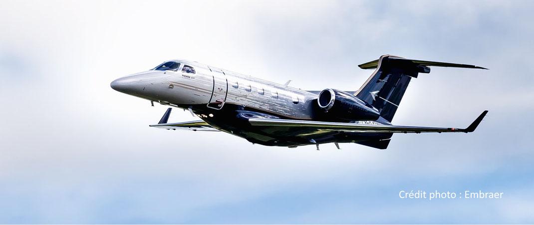 Le jet privé Embraer Phenom 300 reste le light jet le plus vendu au monde.