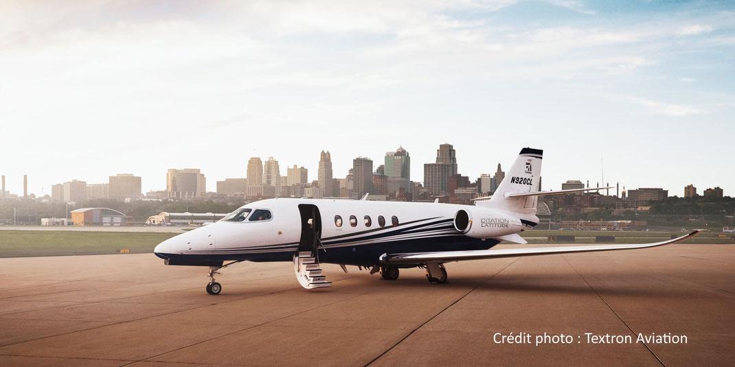 Le Cessna Latitue, le jet privé best-seller de Cessna