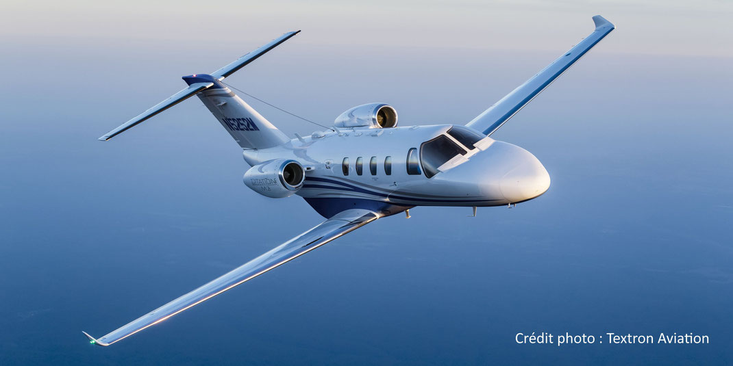 Le Cessna Citation M2, successeur du Cessna Citation CJ1+