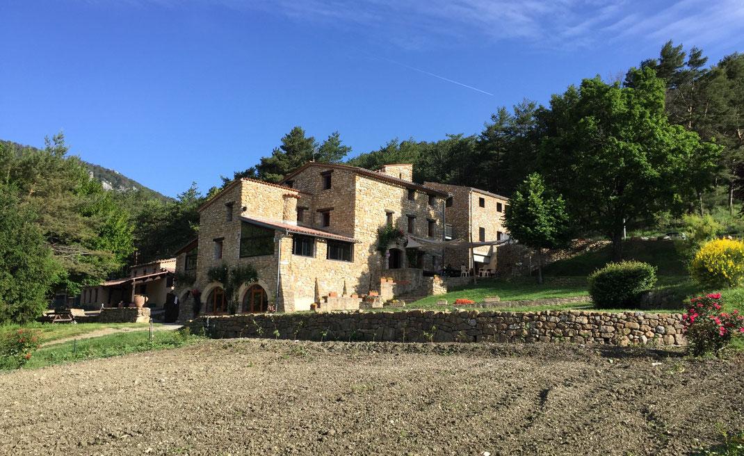 La Bergerie de Faucon dans les Alpes de Haute Provence en juin 2018