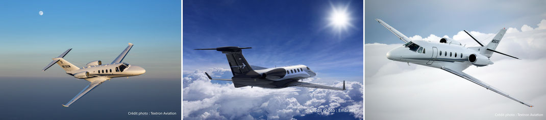 Les jets privés les plus utilisés