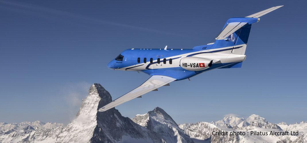 Jet privé Pilatus PC-24