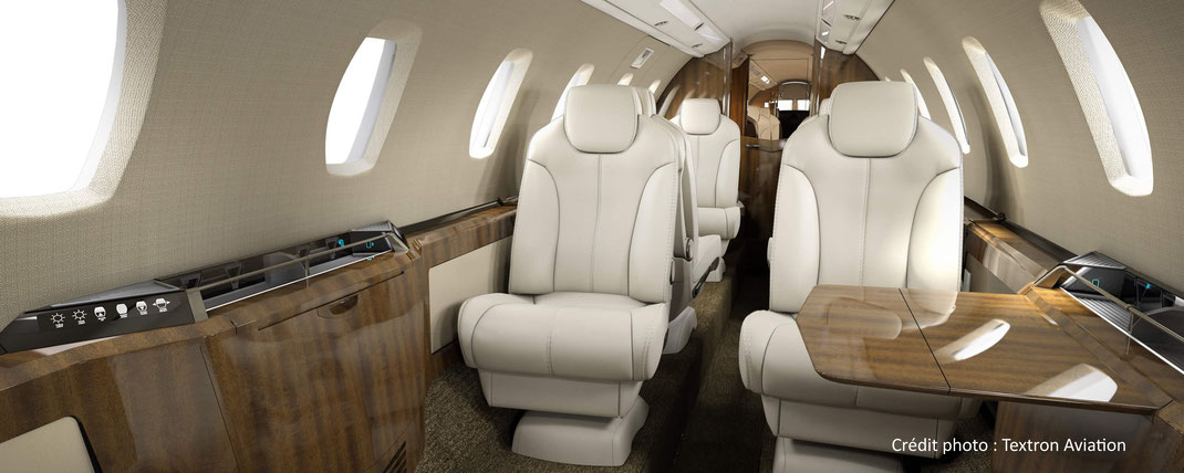 Cabine du Cessna Citation X+