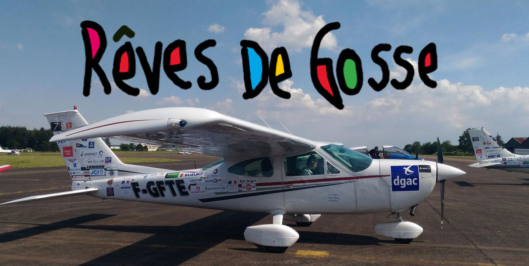 Le Cessna 177 du Chevalier du Ciel Alexis David qui participera au tour aérien Rêves de Gosse 2019