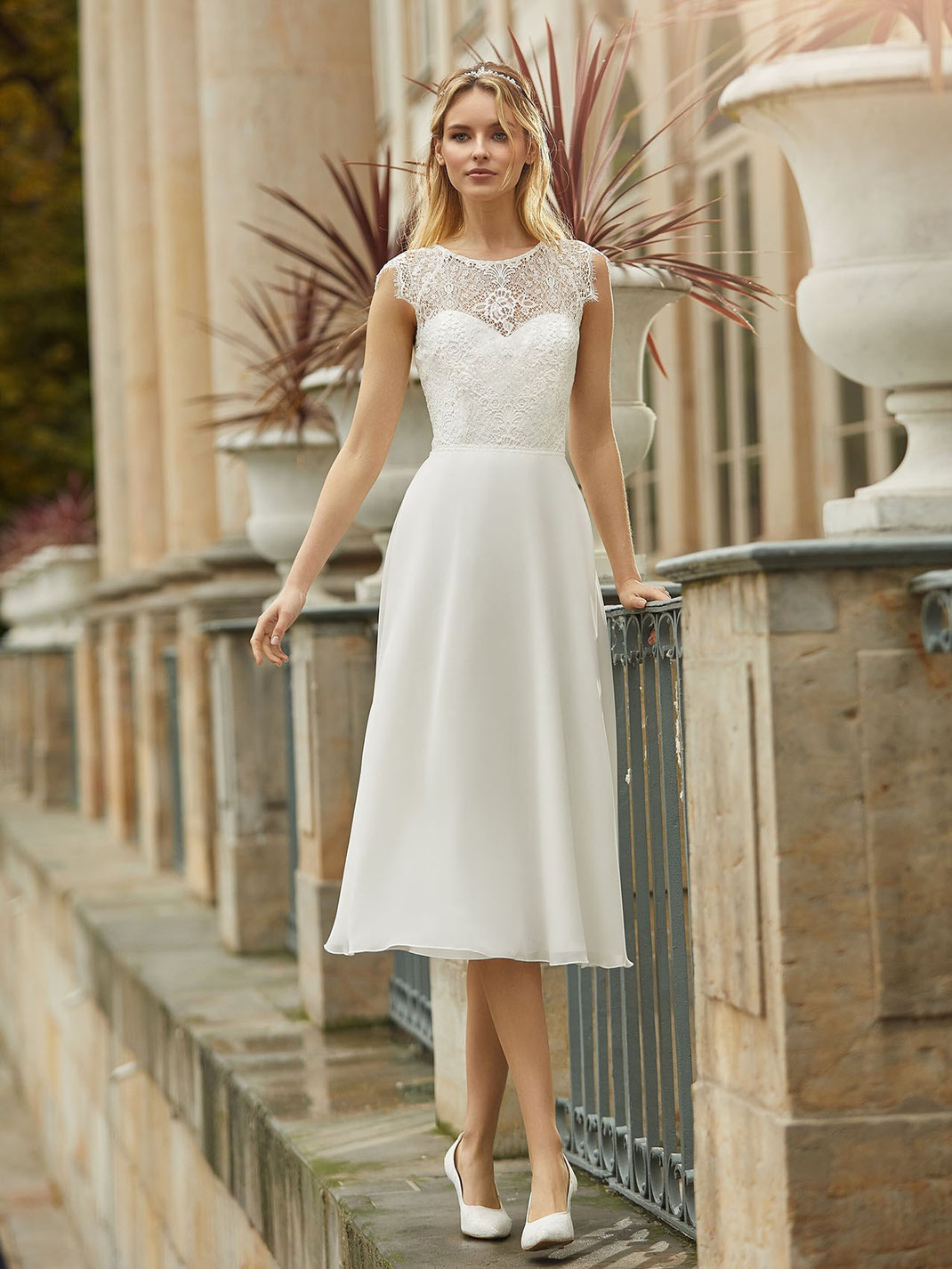 Brautkleid Brandy aus der Bianco Evento Kollektion 2021