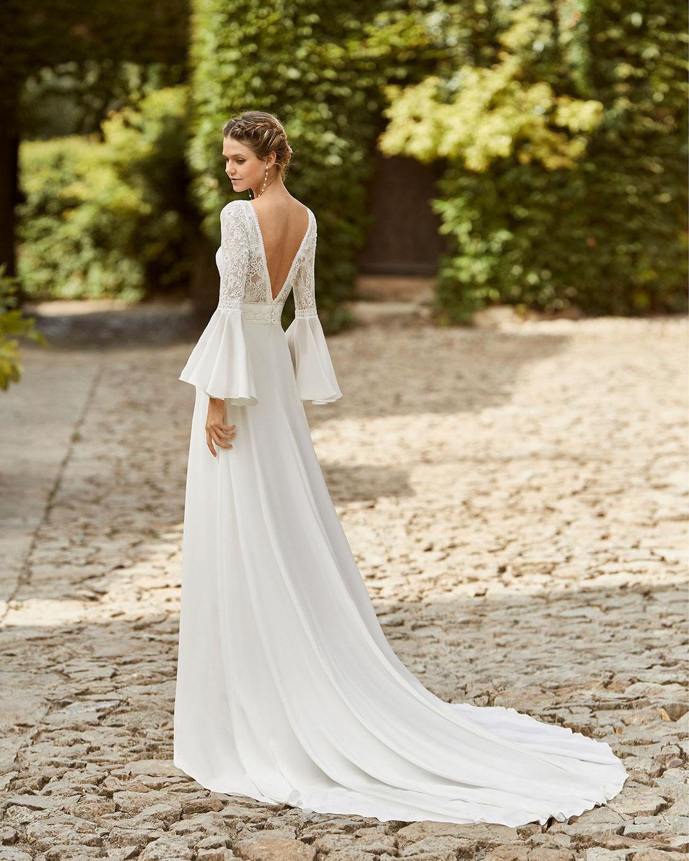 Brautkleid Maelys aus der Alma Novia Kollektion 2022 erhältlich bei Brautmoden Tegernsee