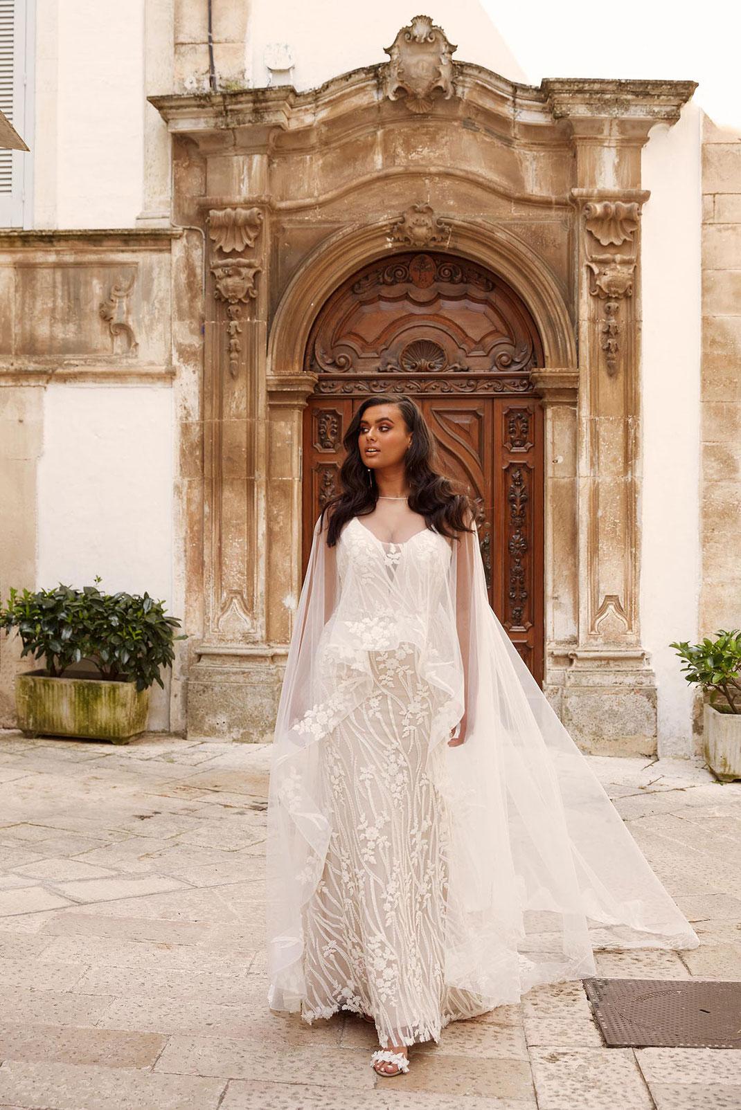 XXL Brautkleid Mandalay aus der Madi Lane Bridal Plussize Kollektion erhältlich bei Brautmoden Tegernsee