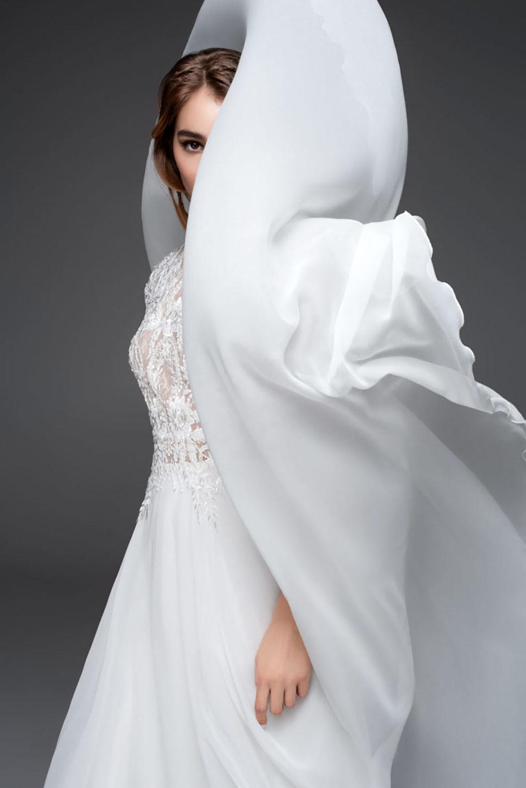 Brautkleid Brave aus der Sadoni 2022 Kollektion