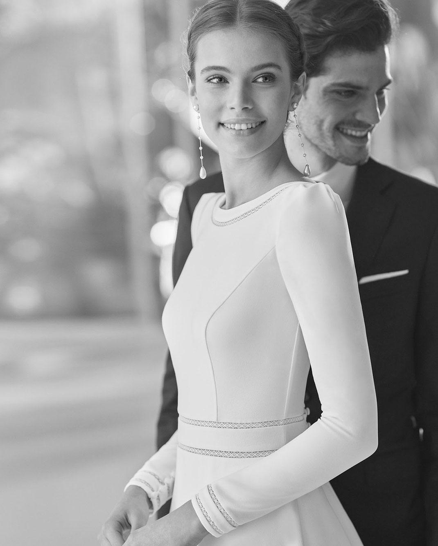 Brautkleid Ballet aus der Rosa Clará Couture Kollektion 2022 erhältlich bei Brautmoden Tegernsee