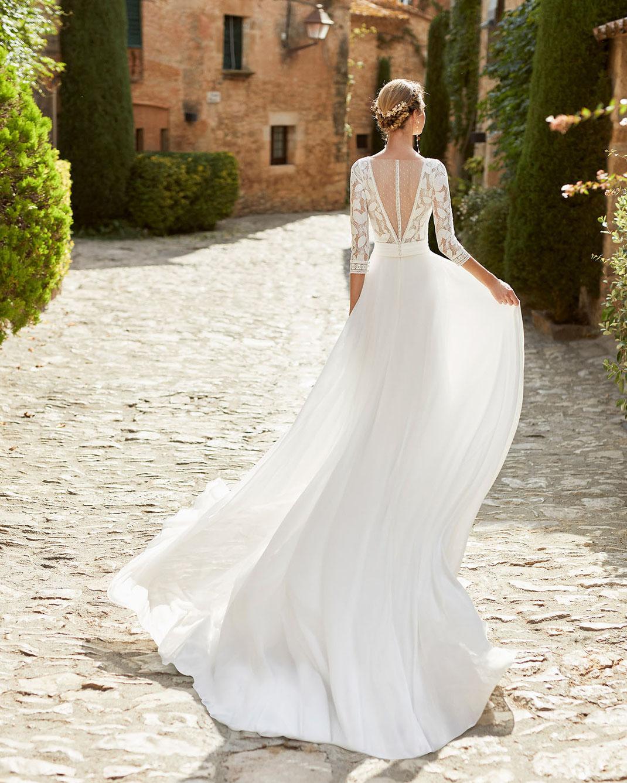 Brautkleid Medes aus der Alma Novia Kollektion 2022 erhältlich bei Brautmoden Tegernsee