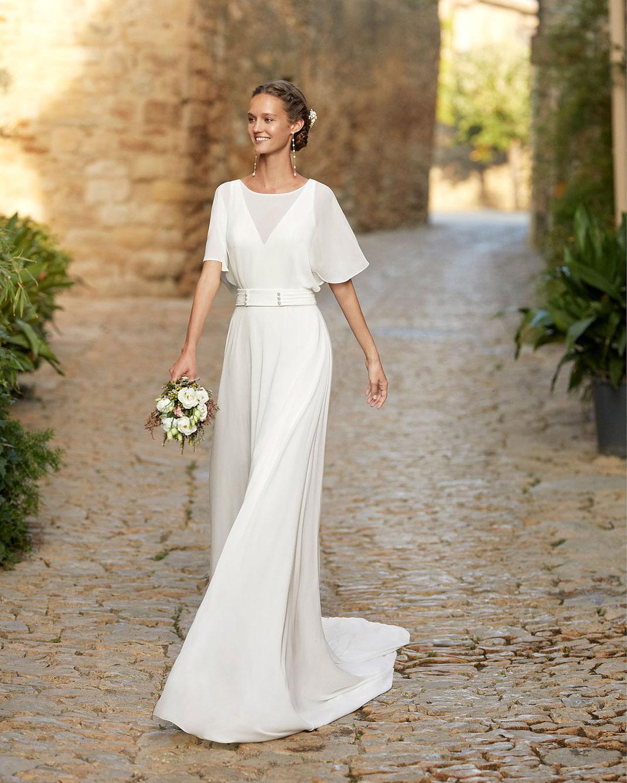 Brautkleid Mabel aus der Alma Novia Kollektion 2022 erhältlich bei Brautmoden Tegernsee