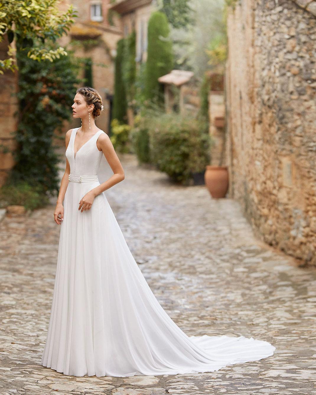 Brautkleid Madison aus der Alma Novia Kollektion 2022 erhältlich bei Brautmoden Tegernsee