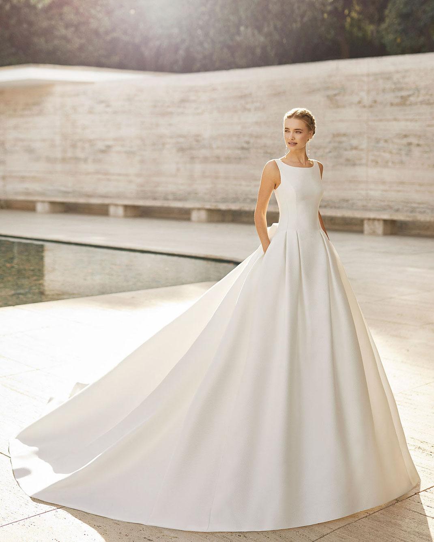 Brautkleid Elaine aus der Rosa Clará Couture 2021 Kollektion
