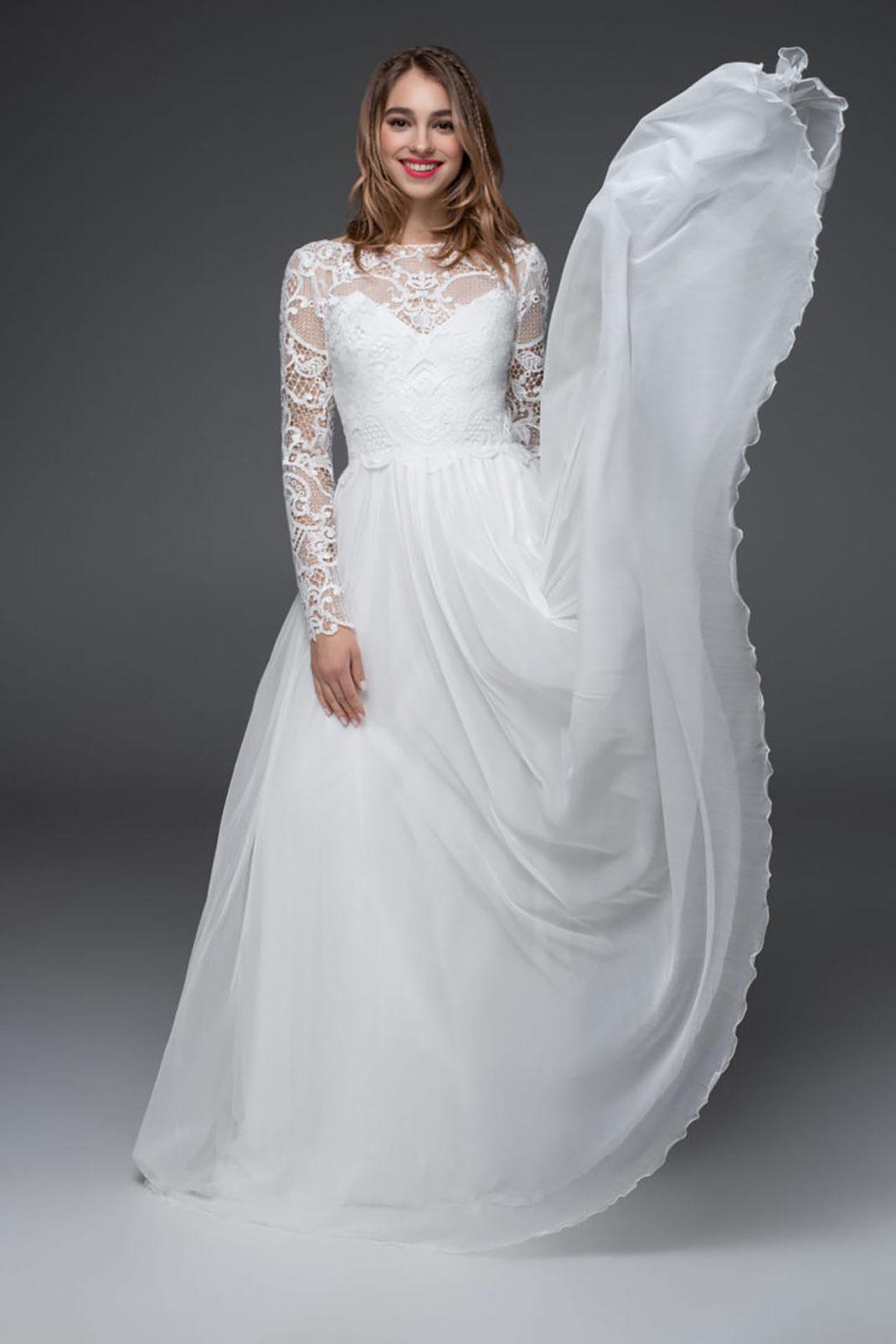 Brautkleid Bronte aus der Sadoni 2022 Kollektion