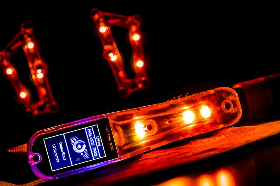 Laser Tec auch Lasertag genannt - Phaser und Weste