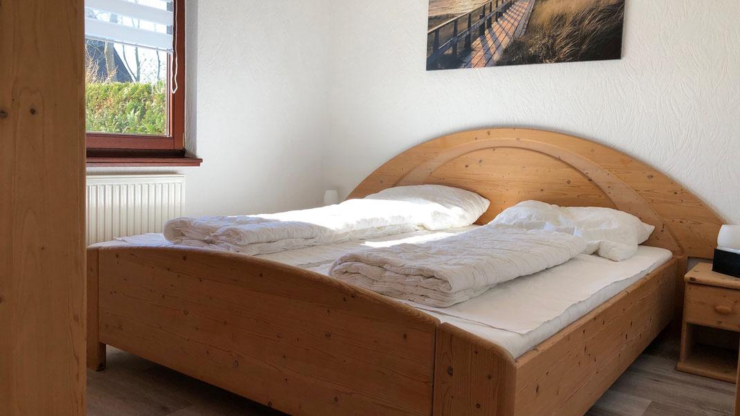 Ferienhaus Scholle K11 -Elternschlafzimmer-