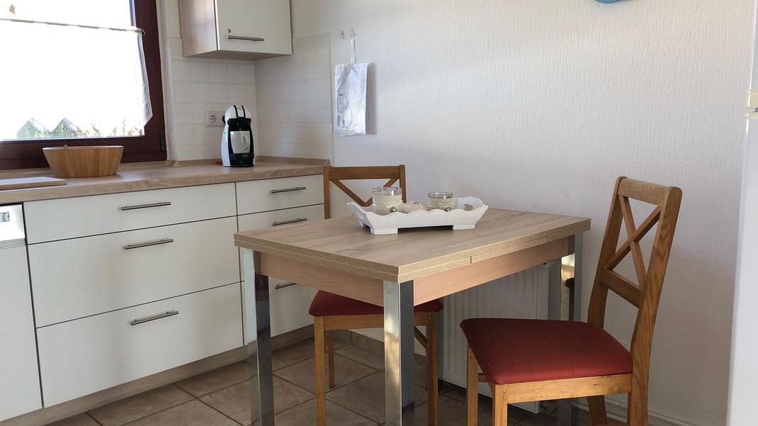 Ferienhaus Scholle K11 -Küche-