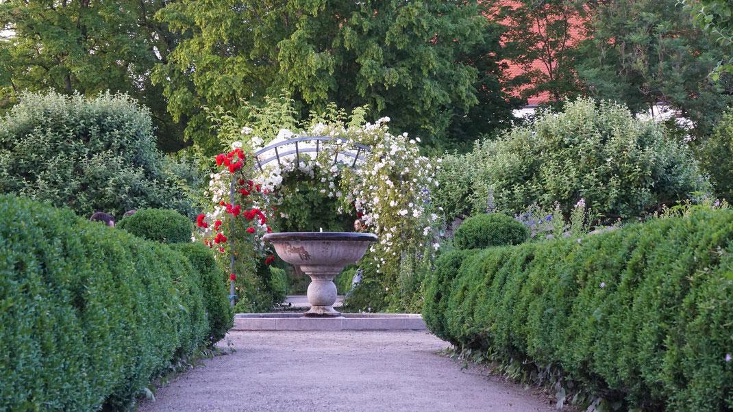 Schlossgarten in Starnberg