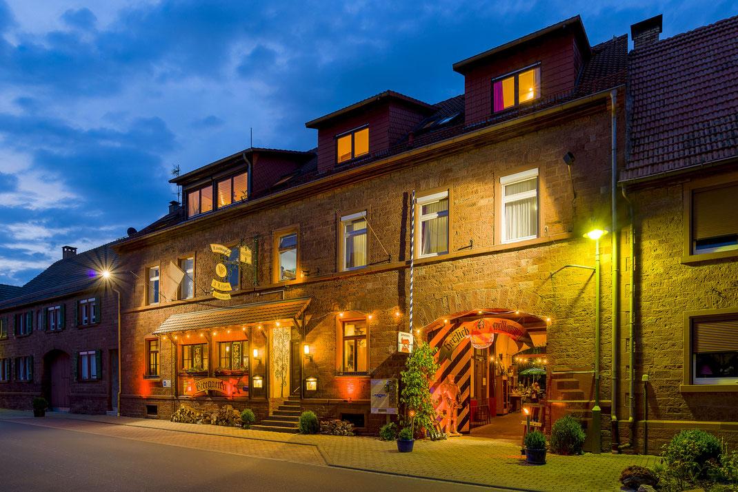 Hotel Drei Lilien . Werbach