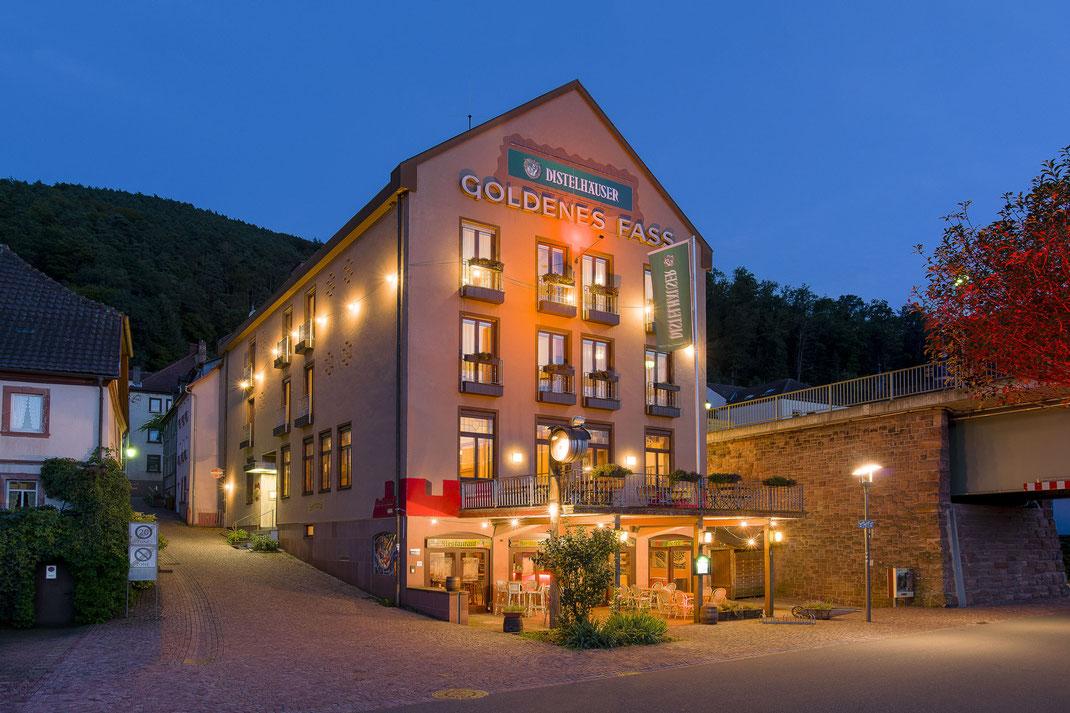 Hotel Goldenes Fass . Freudenberg
