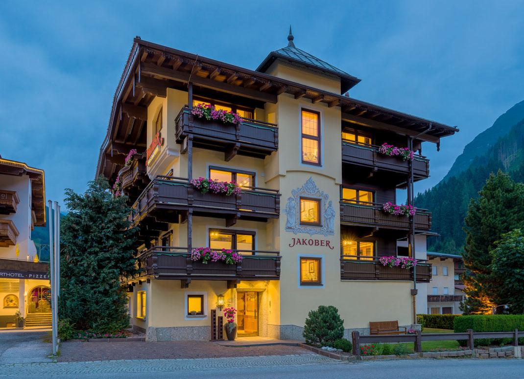 Hotel Jakober . Vorderlanersbach / Österreich