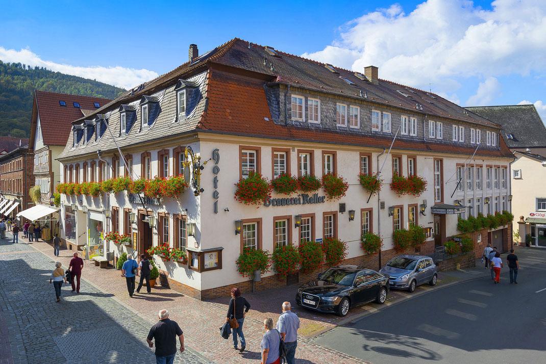 Hotel Brauerei Keller . Miltenberg