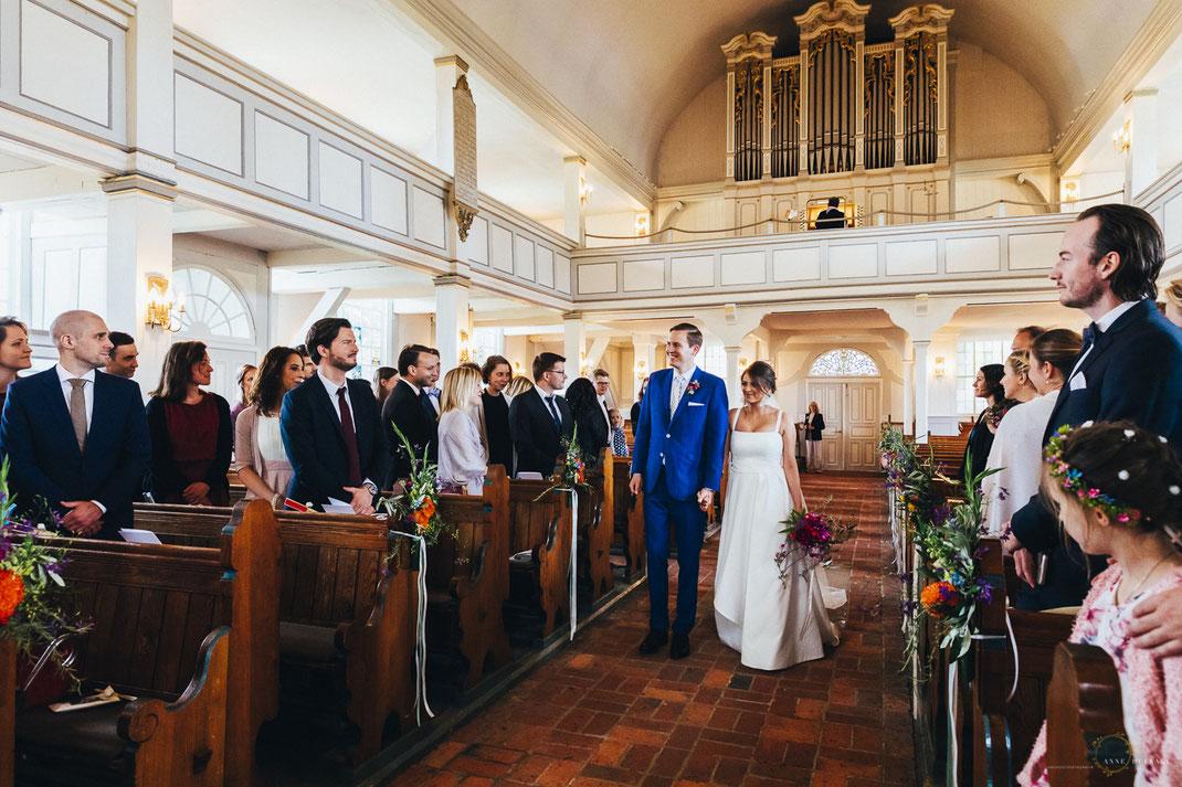 Kirchliche Trauung Hamburg Nienstedten