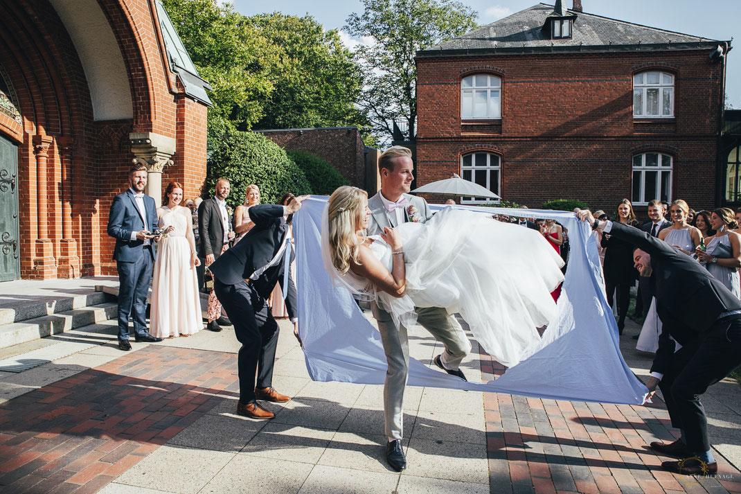 Hochzeitsfotos Trauung Ev.-Luth. Kirchengemeinde Blankenese