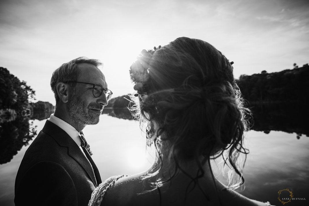 Hochzeitsfotos Berlin - Hochzeit am See / Fotografin: Anne Hufnagl