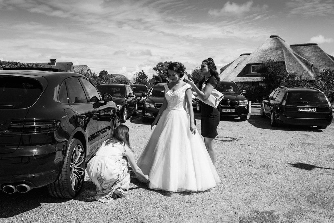 Hochzeit in Schleswig-Holstein / Hochzeitsfotografin Anne Hufnagl aus Hamburg