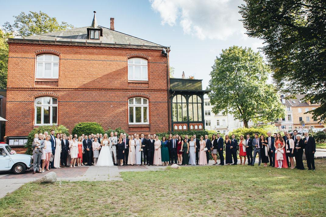Gruppenfoto Hochzeitsfotograf Hamburg