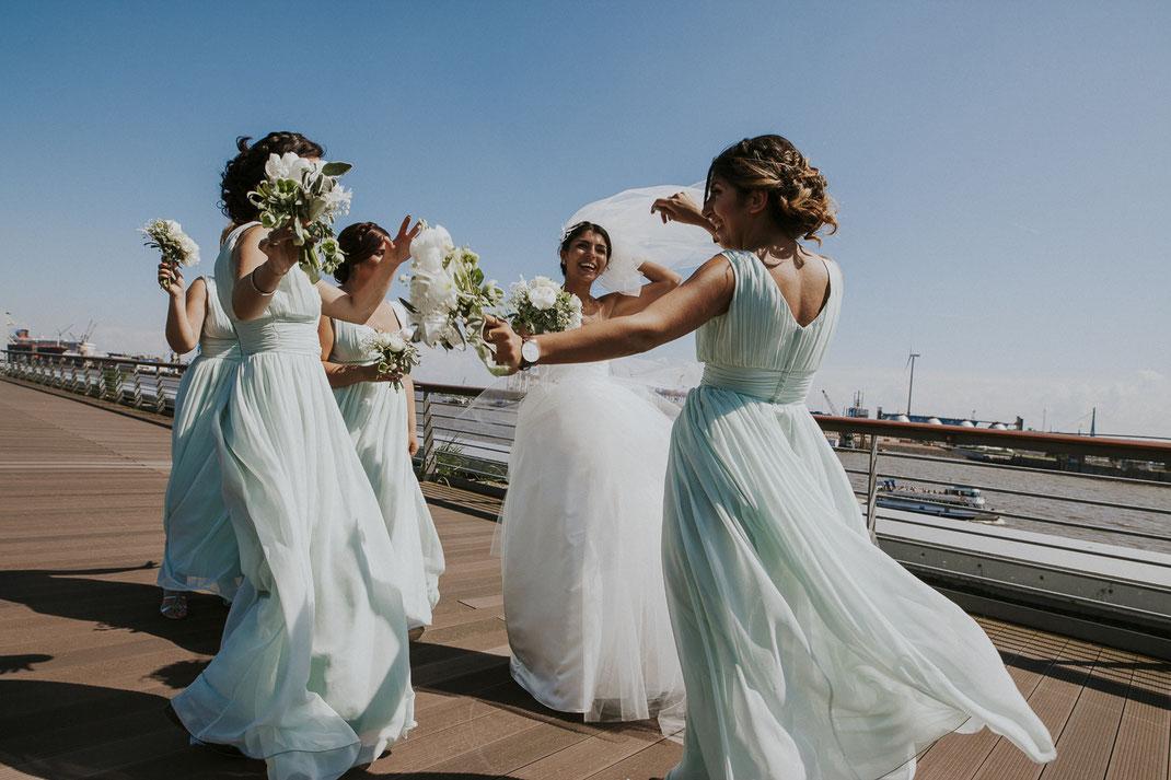 Hochzeitsfotos Hamburg Hafen