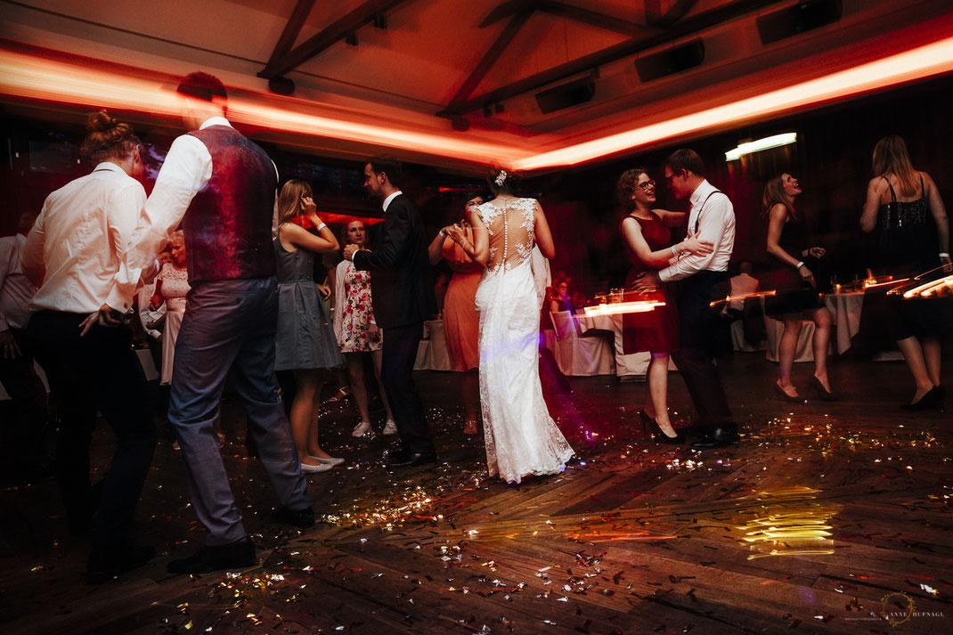 Bei einer tollen Hochzeitsfeier im Lindner Park-Hotel Hagenbeck
