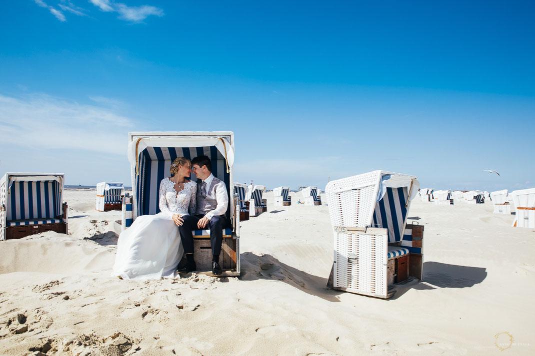 Guter Hochzeitsfotograf Sankt Peter Ording: Anne Hufnagl