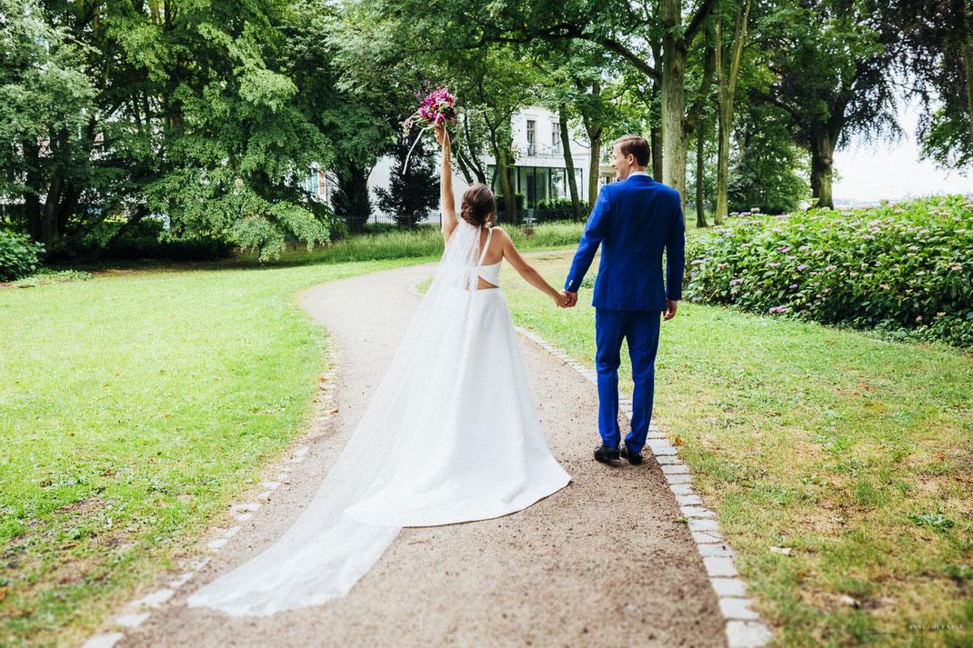Hochzeitsfotograf Hamburg - Heiraten in der Villa im Heine-Park