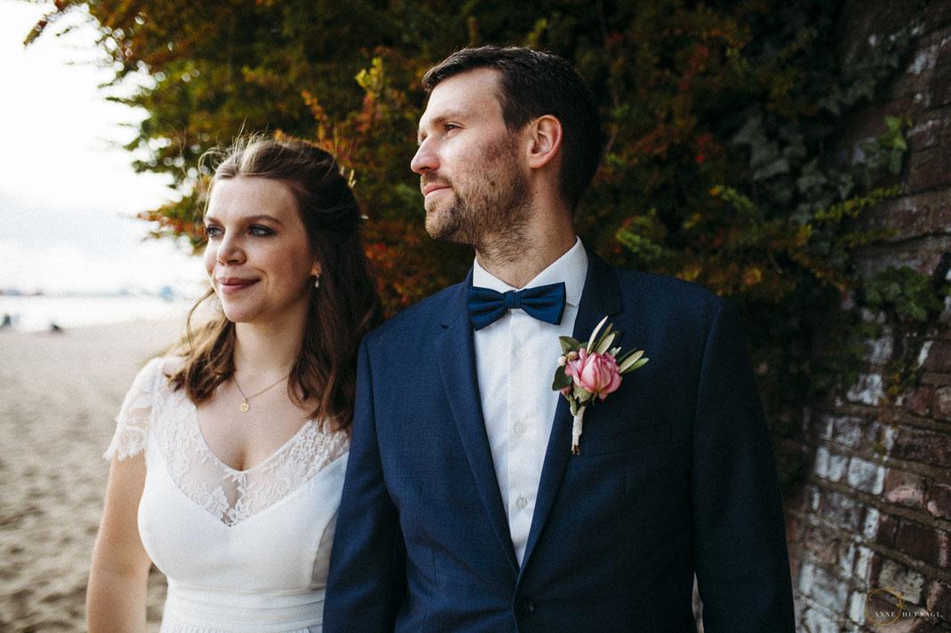 Brautpaar-Fotos in Hamburg von Hochzeitsfotograf Anne Hufnagl