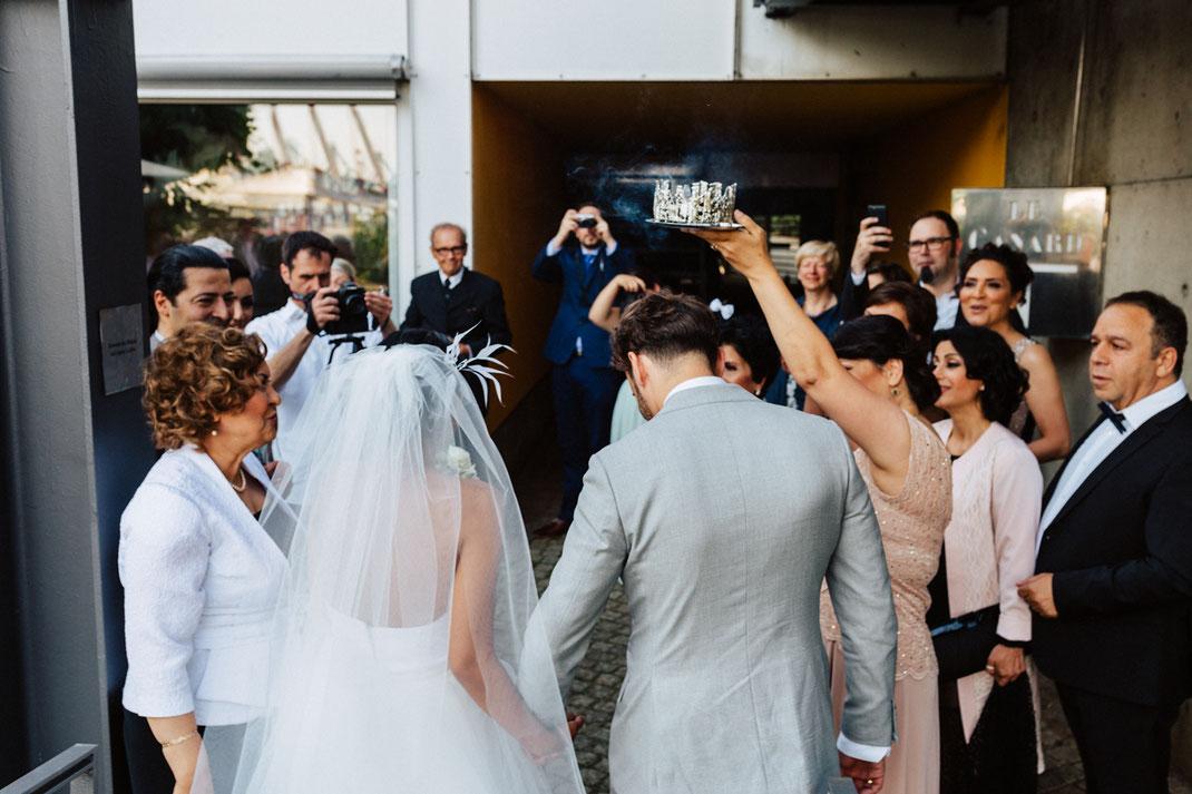 Heiraten im Le Canard Hamburg