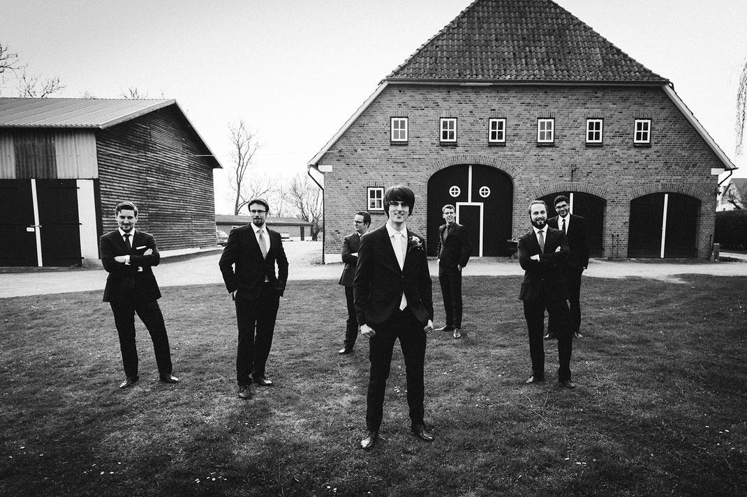 Gruppenfoto Hochzeit Hamburg Timmendorf