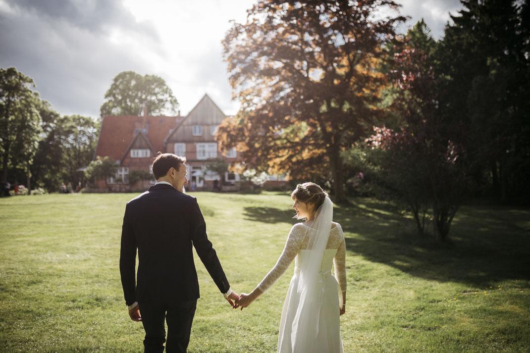 Hochzeitsfotos Waldhof Herrenland Mölln