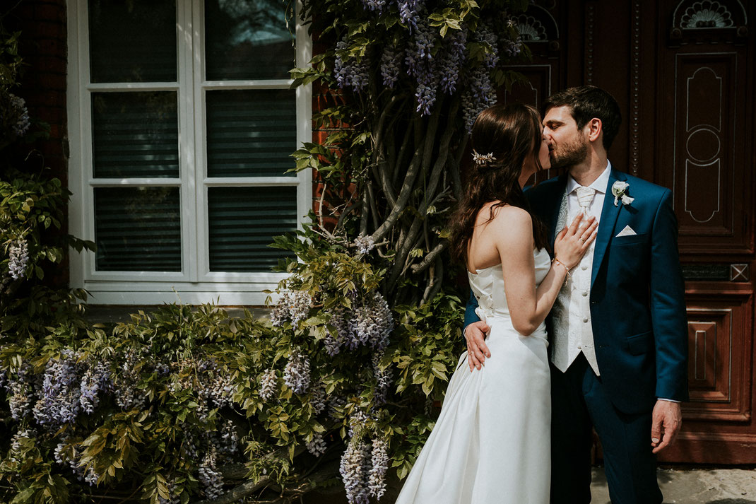 Hochzeitsfotografin Anne Hufnagl Lüneburg Brautpaar