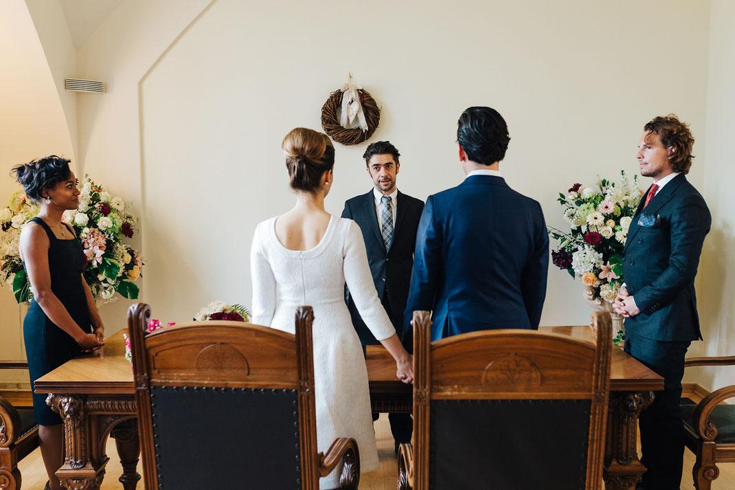 Hochzeit im Standesamt Altona
