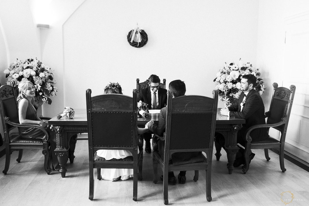 Trauung im Standesamt Altona // Fotografin: Anne Hufnagl