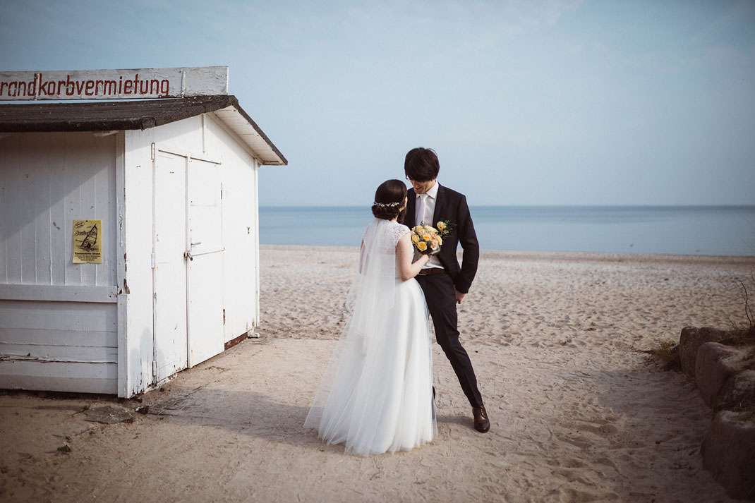 Hochzeitsfotografie Ostsee Timmdorfer Strand