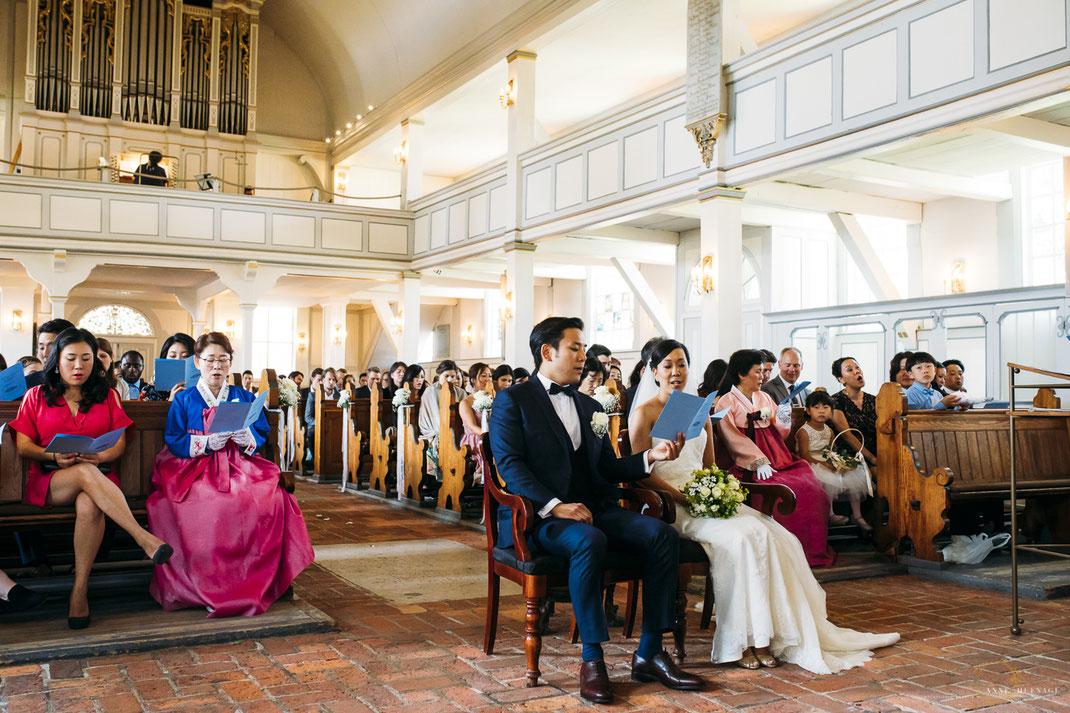 Trauung in der Kirche Nienstedten // Traugottesdienst // Hochzeitsfotografin: Anne Hufnagl