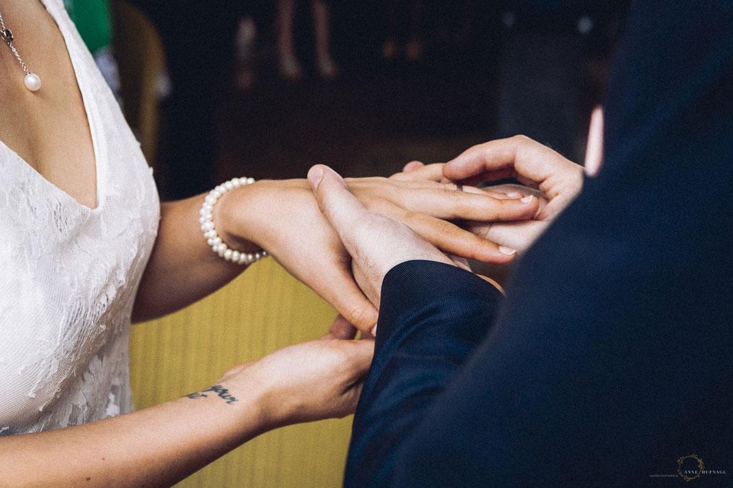 Foto Ringtausch Hochzeit Altes Land
