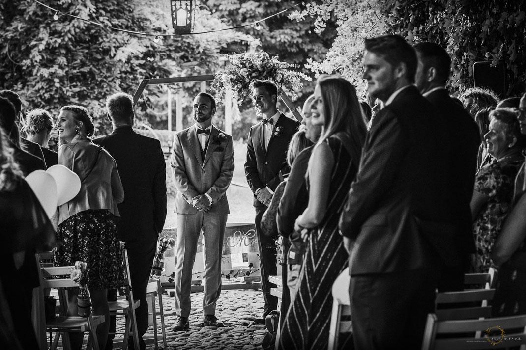 Hochzeitsfotografin Hamburg - Freie Trauung auf Gut Haidehof Wedel / Anne Hufnagl