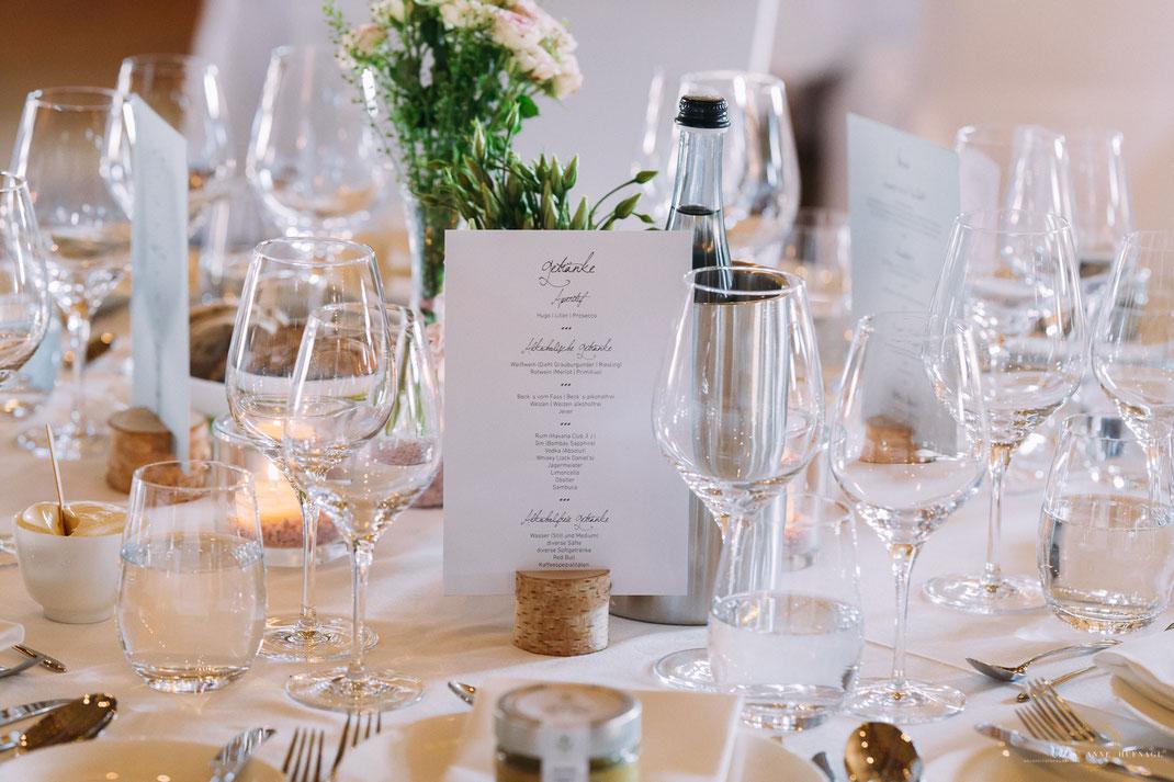 Tischdeko Hochzeit Inspiration