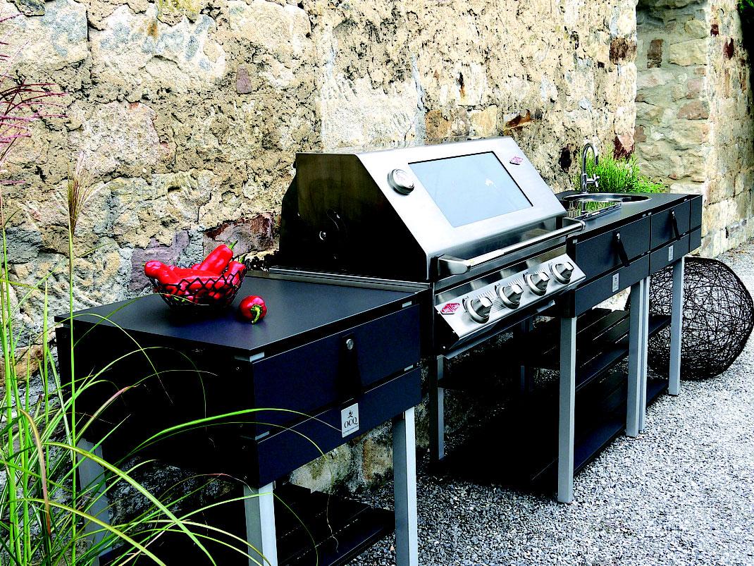 Outdoor Küche Erftstadt : Outdoor küchen von ocq jetzt neu bei uns kuechen go